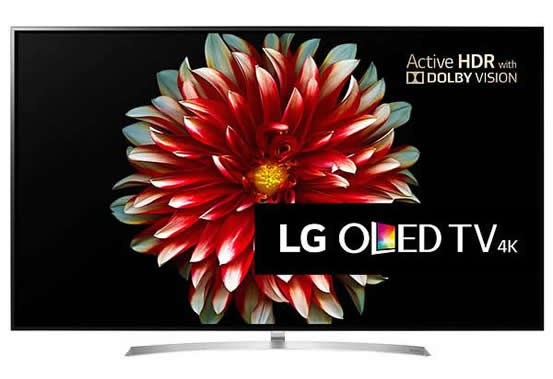Bästa smart TV 2017 - LG OLED55B7V