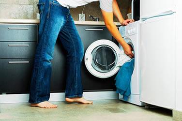 liten tvättmaskin torktumlare